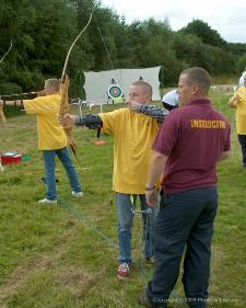 Corporate archery Buckinghamshire