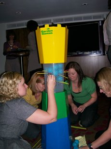 Giant Kerplunk and other pub games to hire