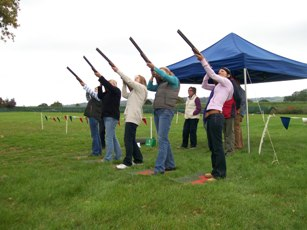 Laser Clay Shooting Field Sport Activity