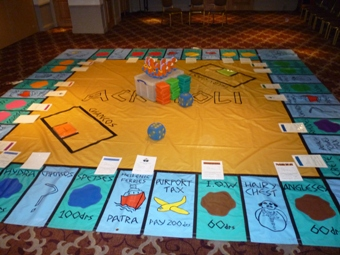 Giant Acropoli Indoor Board Game