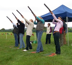 Laser Clay Pigeon Shooting Herefordshire